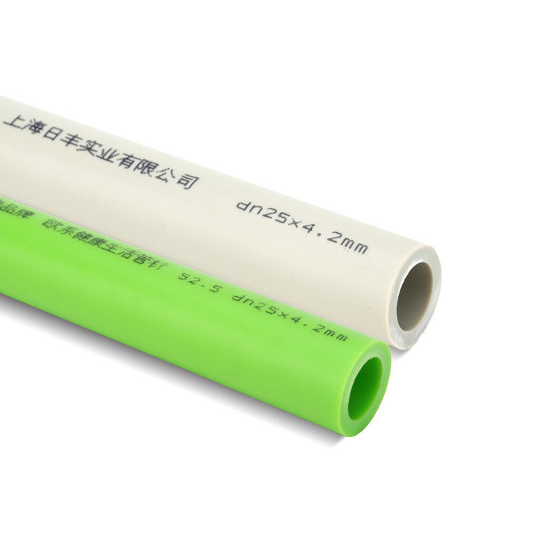 PP-R hot water pipe    ISO9001, DIN8077/8078  Polypropylene Color customization   Brand Name Seefine or OEM